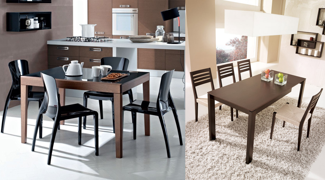 tavolo classico cucina moderna