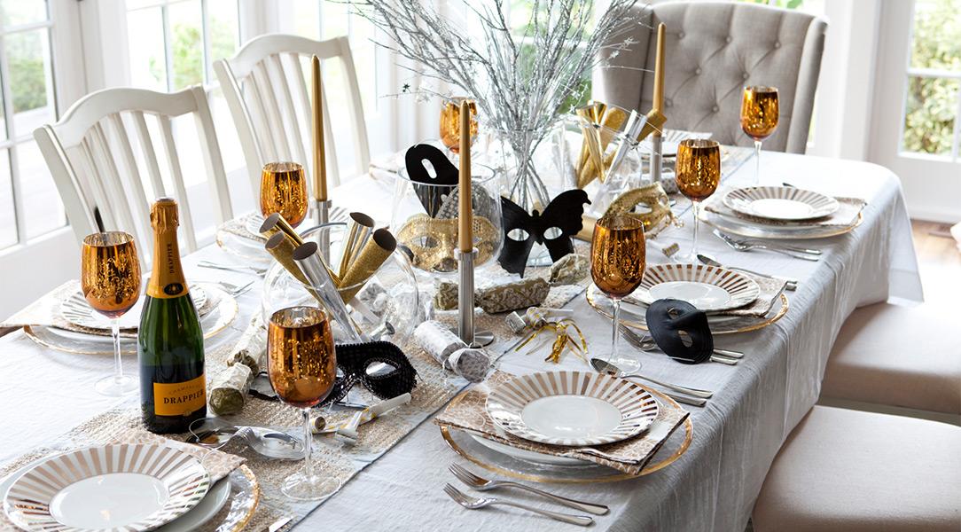 tavolo cenone capodanno