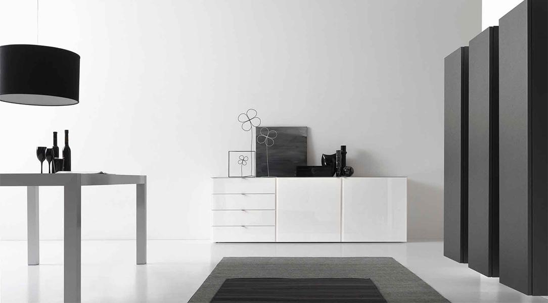 Come arredare la casa in bianco e nero for Arredare casa bianco e beige