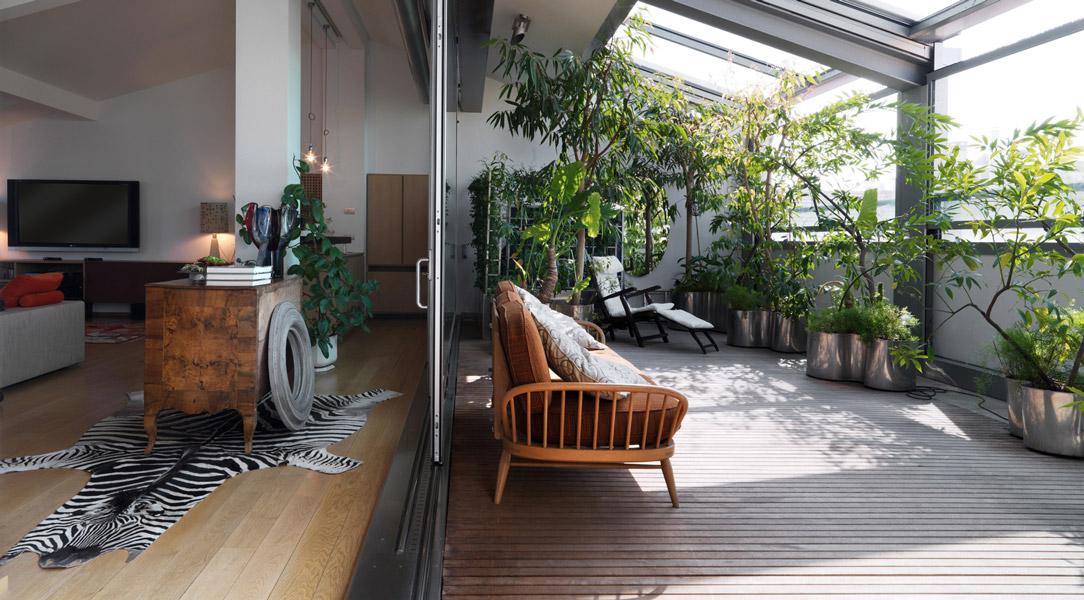 terrazzo giardino