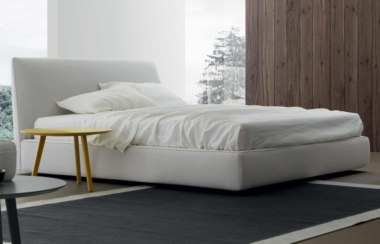 letto design con contenitore