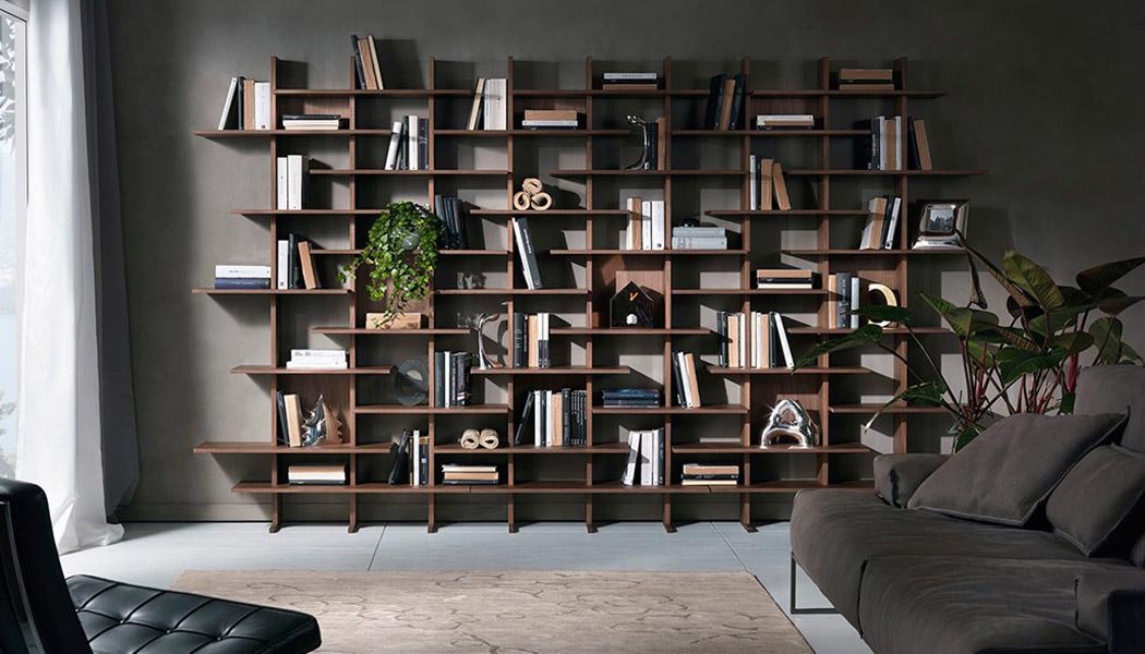 Libreria Elisabeth disegnata da Cesare Arosio e Beatrice Fanchini di ABC architetti
