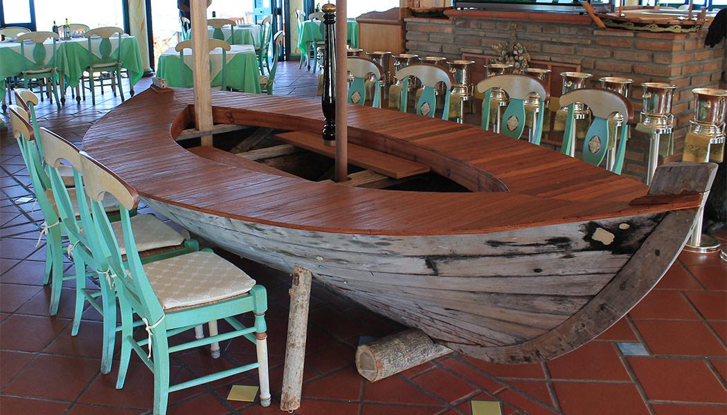tavolo barca