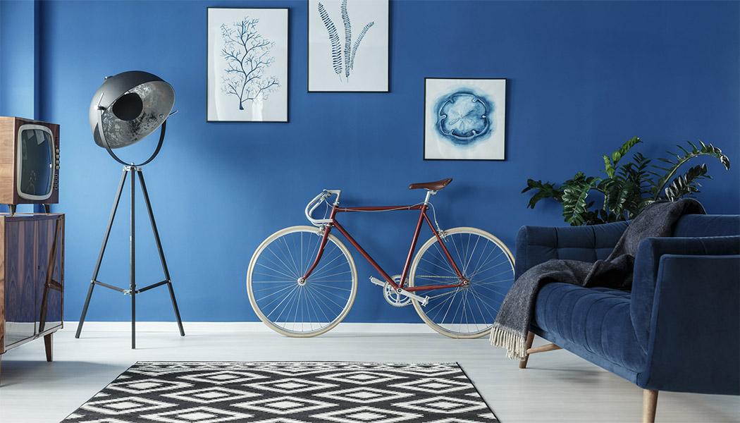 pareti azzurre